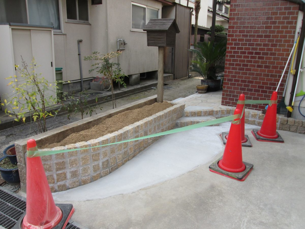 岡山市 K様邸外構リフォーム工事完了♪