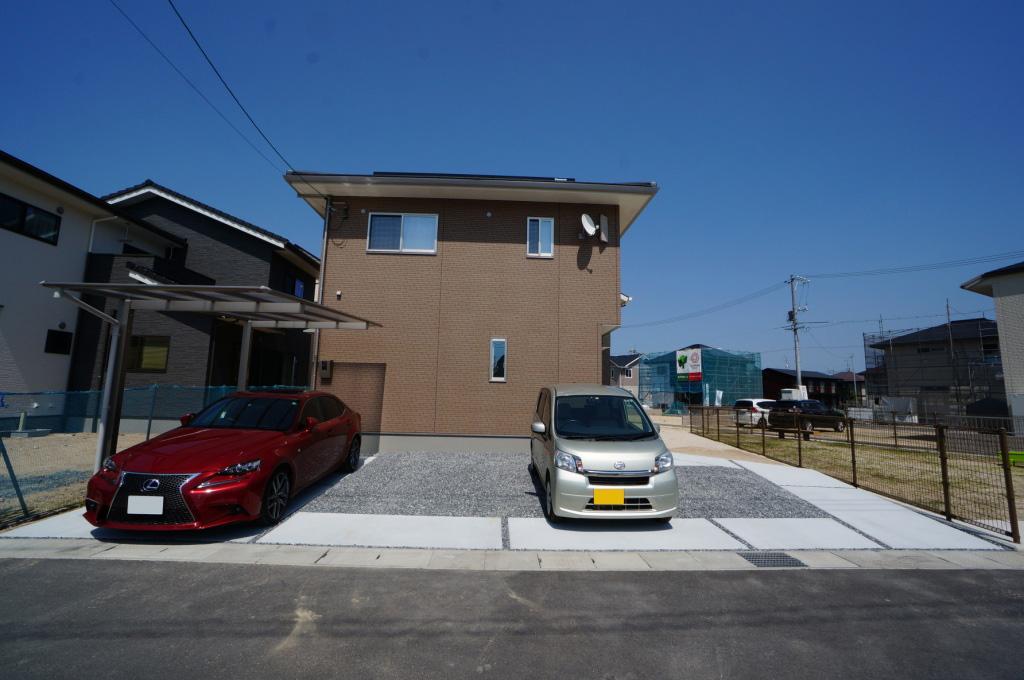岡山市 カーポート 土間コンクリート