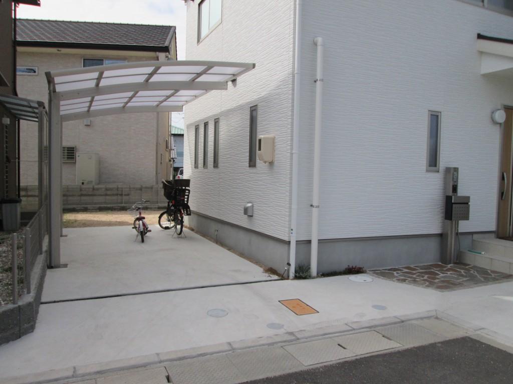 岡山市 M様邸外構工事完成!