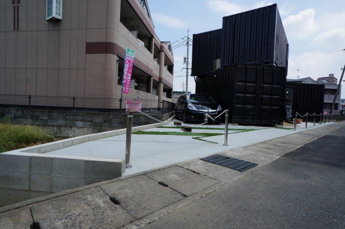 倉敷市東富井 EST INNOVATION様 モデルハウス 外構工事施工完了♪