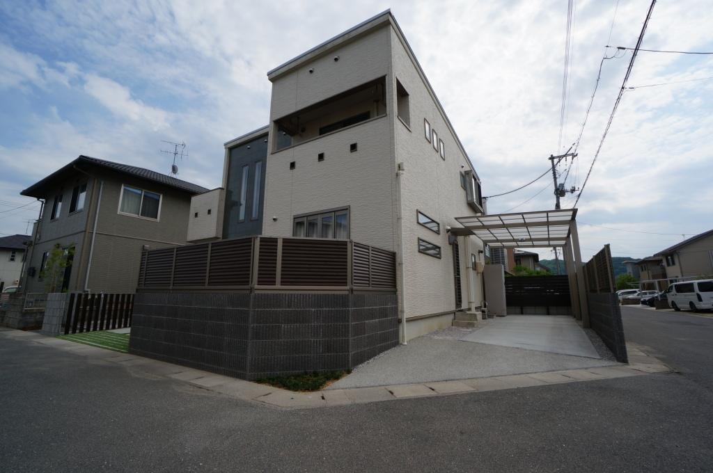 岡山市 外構工事 駐車場