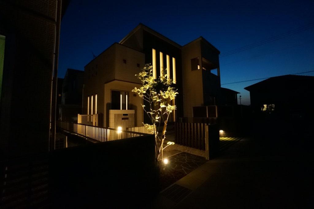 岡山市 植栽等ライトアップ
