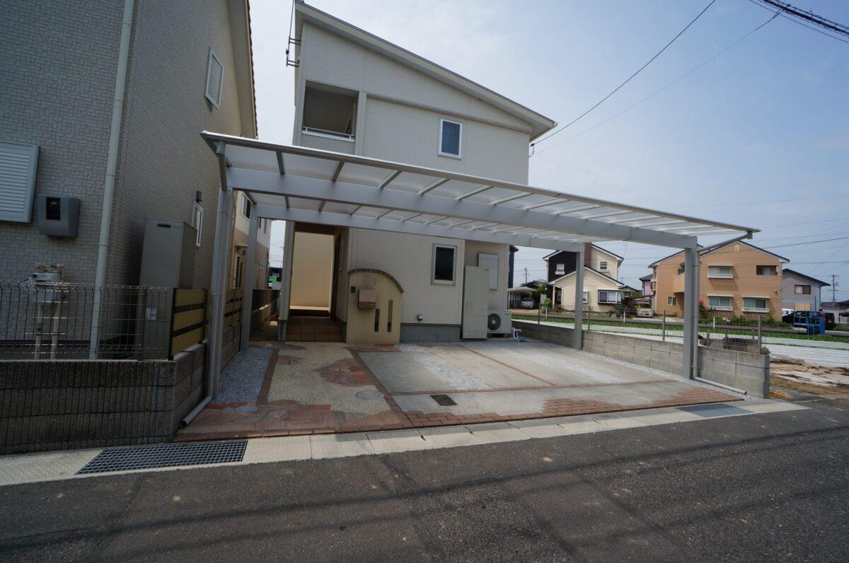 倉敷市 カーポート
