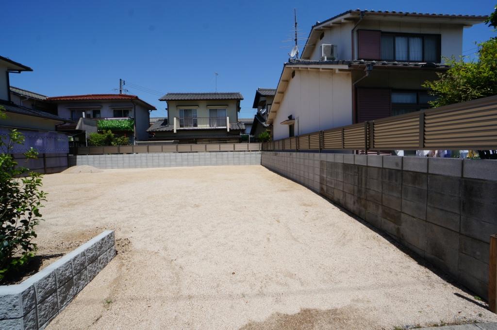 岡山市 ブロック塀 目隠しフェンス